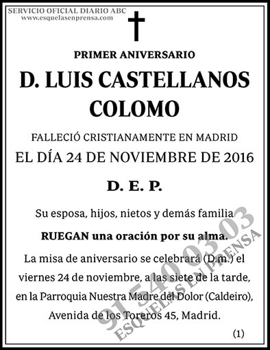 Luis Castellanos Colomo